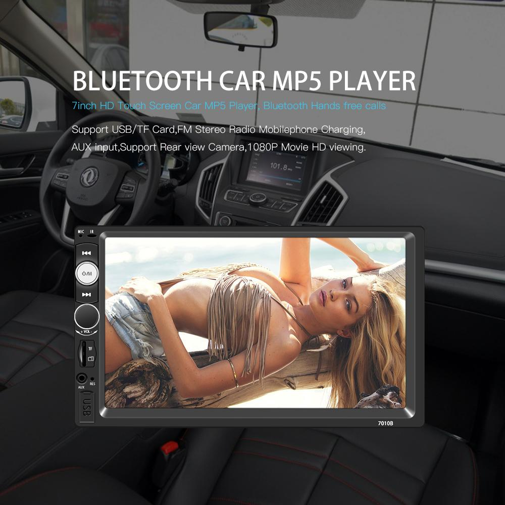Radio Mp5 mirror link Bluetooth Usb Sd Aux Pantalla 7 4x60w