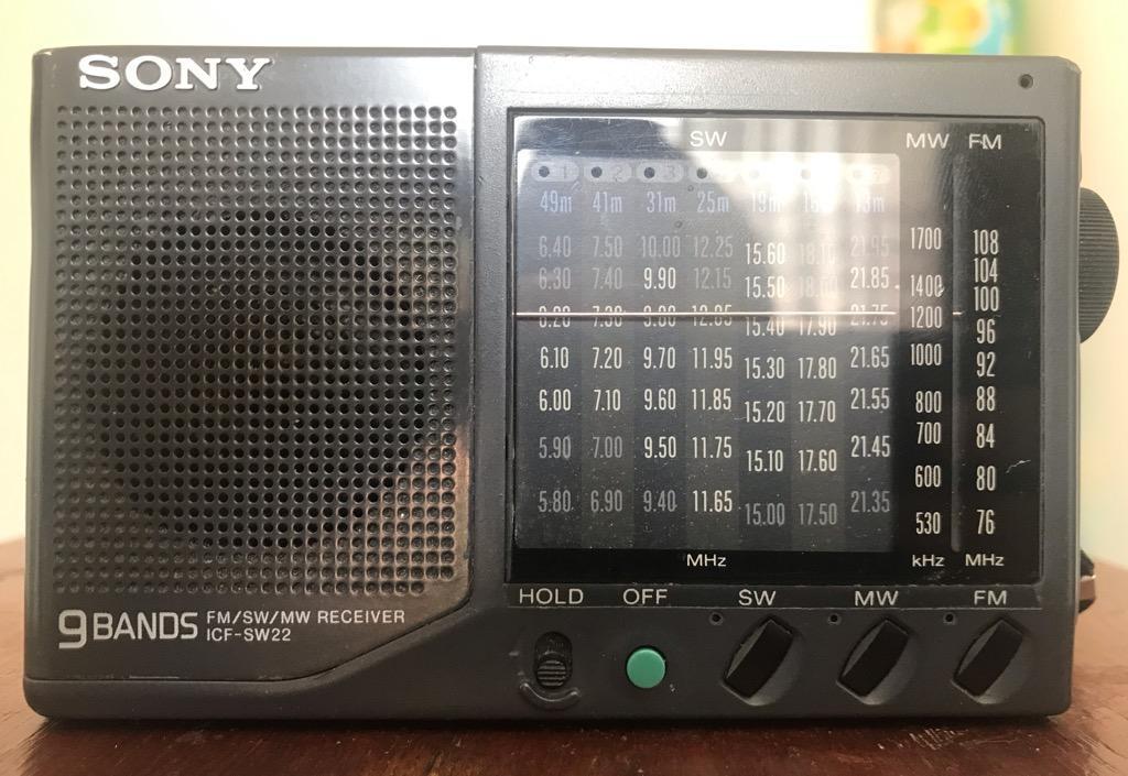 Sony Icf-Sw22 (Radio Portable Multibanda