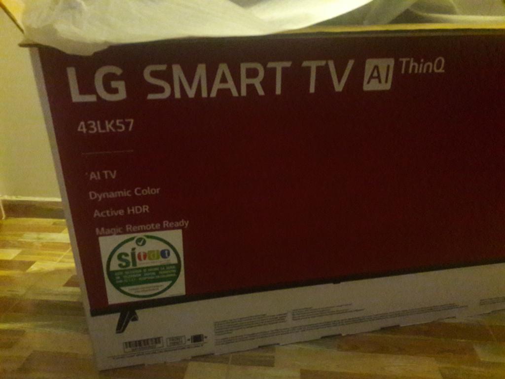 Tv Lg Fhd de 43 Pulg con Wifi Y Bluetoot