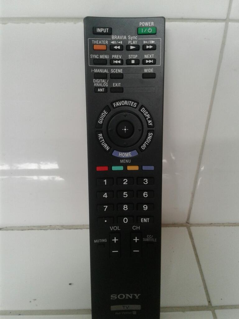 Vendo Control de Tv.sony Bravia.lcd Hd