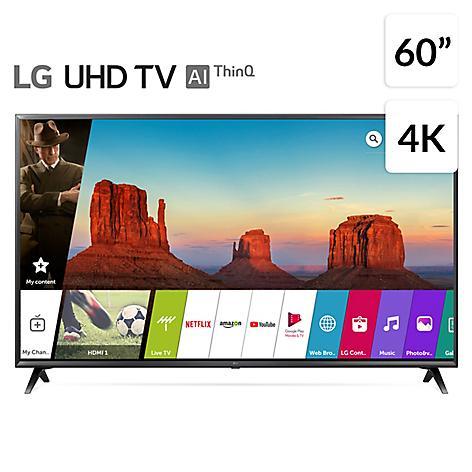 televisor lg 60 pulgadas uhd 4k smart tv blutooth