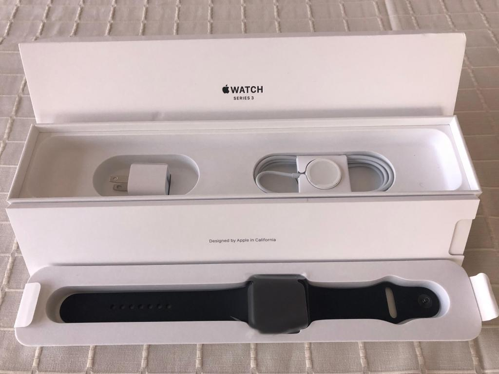 Apple Watch Serie 3 38mm Lte. Uso 1 Mes.