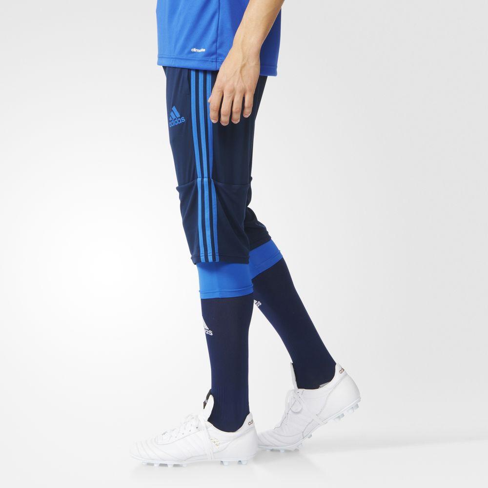 Adidas 3/4 Pantalón Deportivo Para Hombre Azul Oscuro