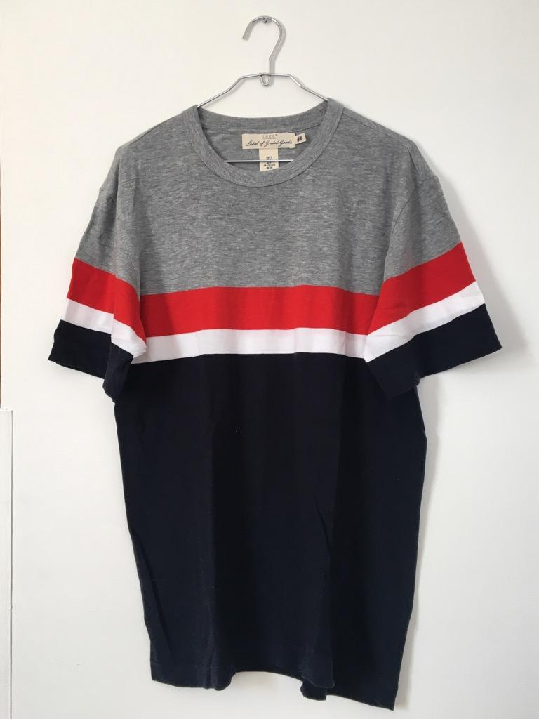 Camiseta H&M de Rayas Talla S Usada