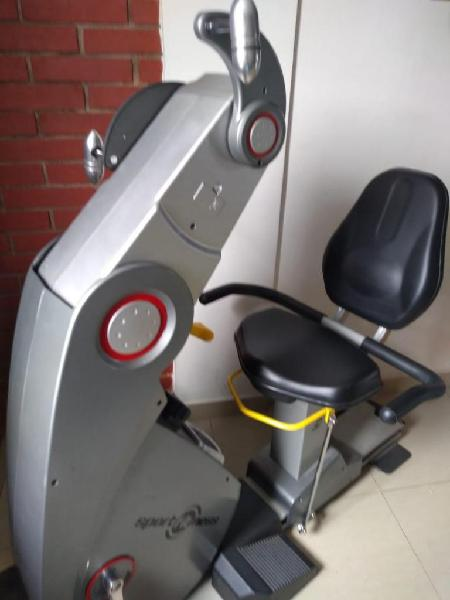 Ergometro y bicicleta reclinada Profesional