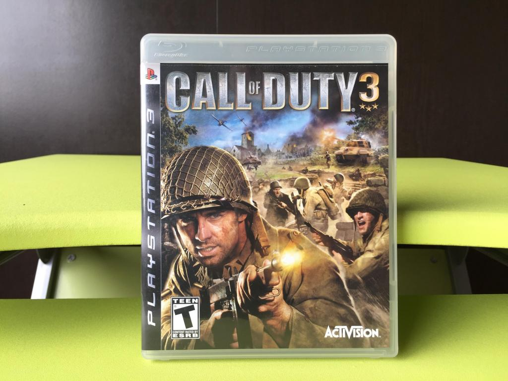 CALL OF DUTY 3 para PS3 !!! COMO NUEVO ¡¡¡