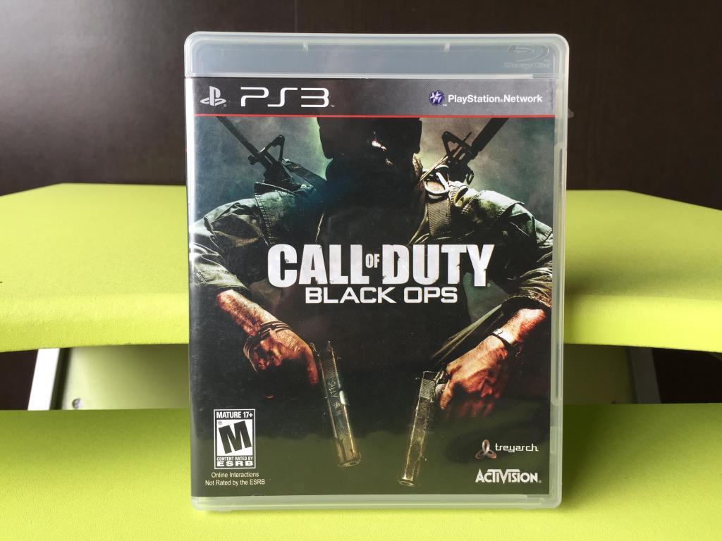 CALL OF DUTY BLACK OPS para PS3 !!! COMO NUEVO ¡¡¡