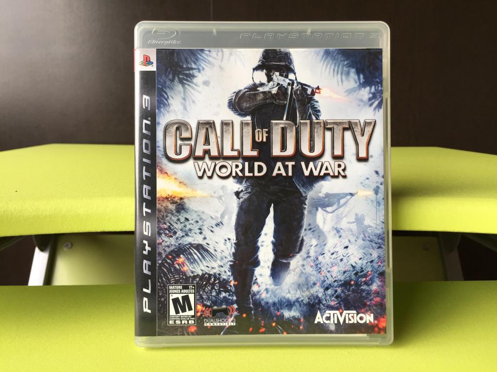 CALL OF DUTY WORLD AT WAR para PS3 !!! COMO NUEVO ¡¡¡
