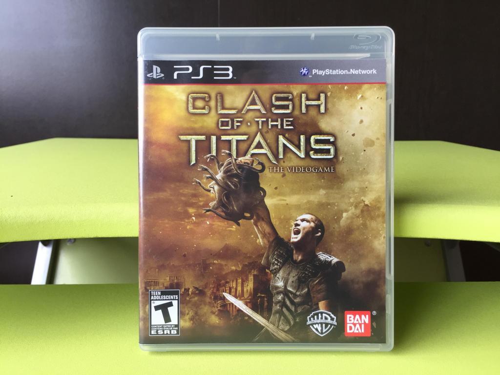 CLASH OF THE TITANS THE VIDEO GAME para PS3 !!! COMO NUEVO