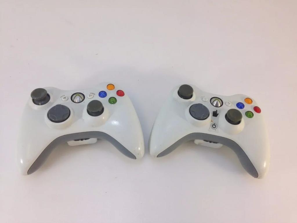 Control Inalámbrico para consola Xbox 360, Original Blanco