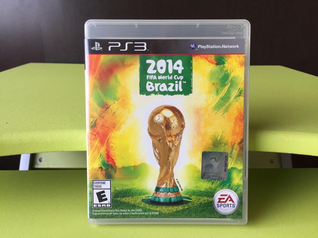 FIFA WORLD CUP BRAZIL para PS3 !!! COMO NUEVO ¡¡¡