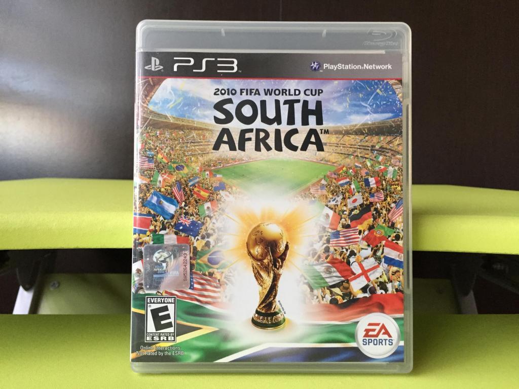 FIFA WORLD CUP SOUTH AFRICA para PS3 !!! COMO NUEVO