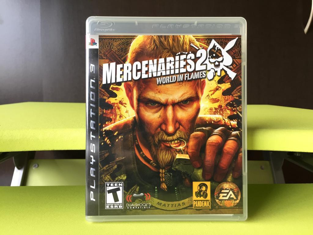 MERCENARIES 2 WORLD IN FLAMES para PS3 !!! como nuevo ¡¡¡