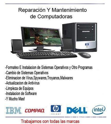 Reparación Y Mantenimiento De Pc, portátiles E Impresoras