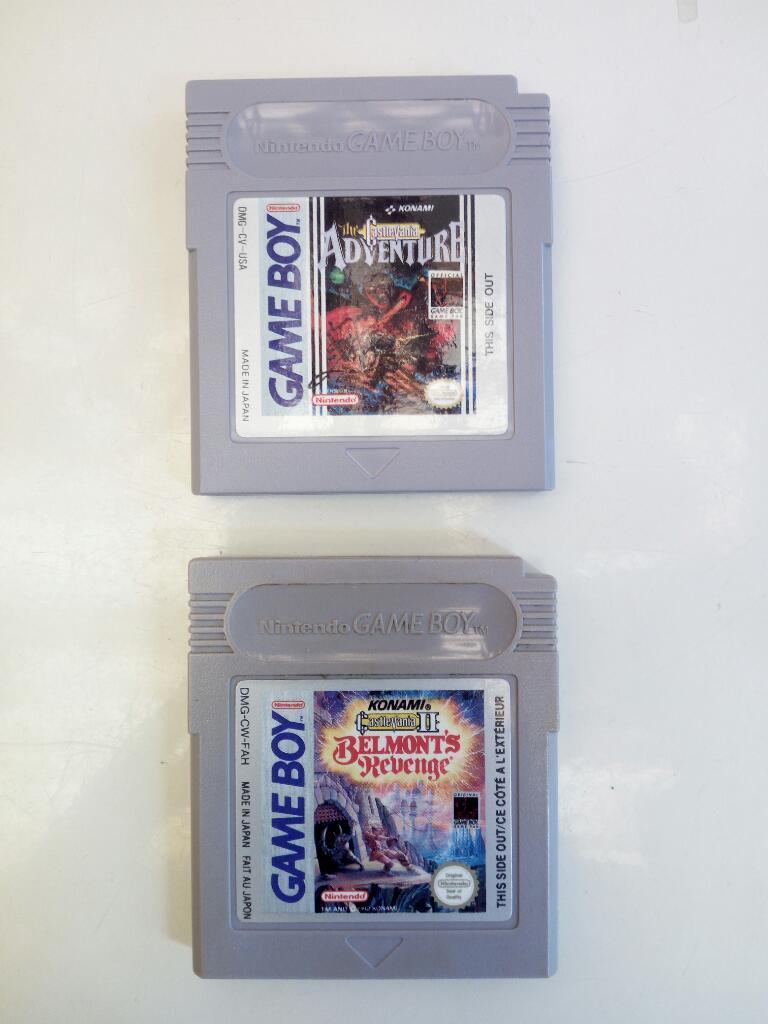 Saga Castlevania Game Boy