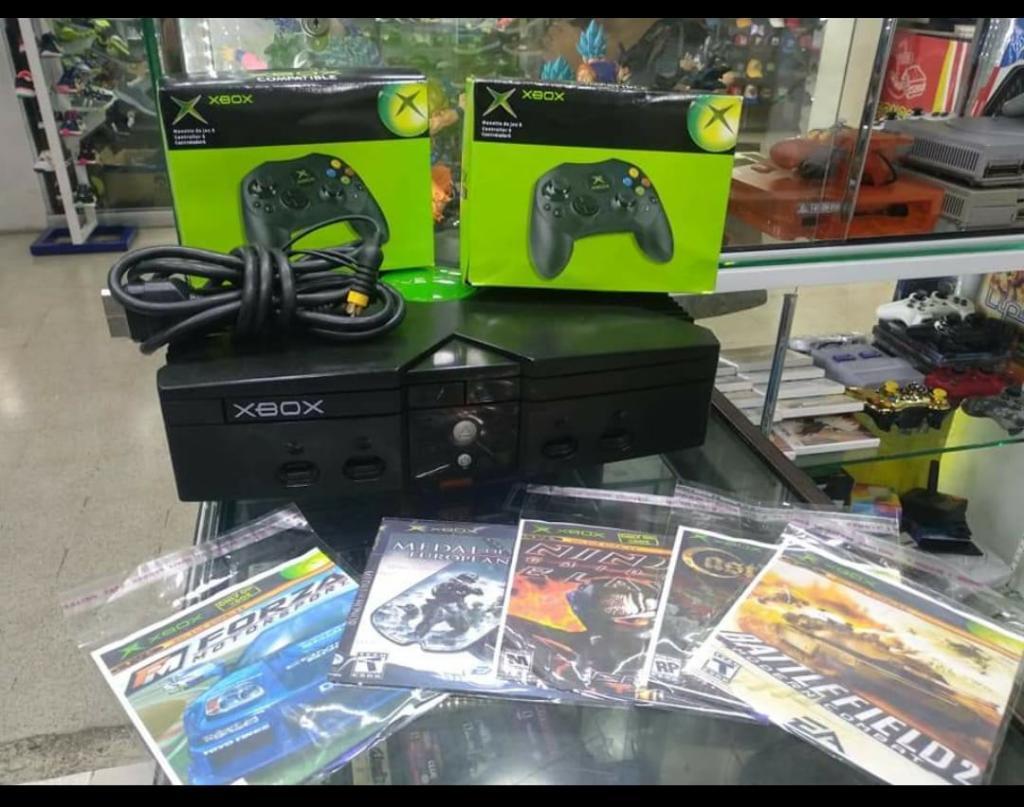 Xbox Clasico 2 Controles 15 Juegos