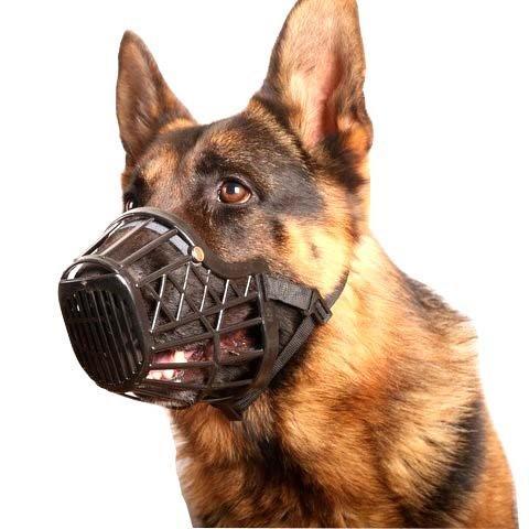 Bozal Para Perros Canasta Plástica Ajustable