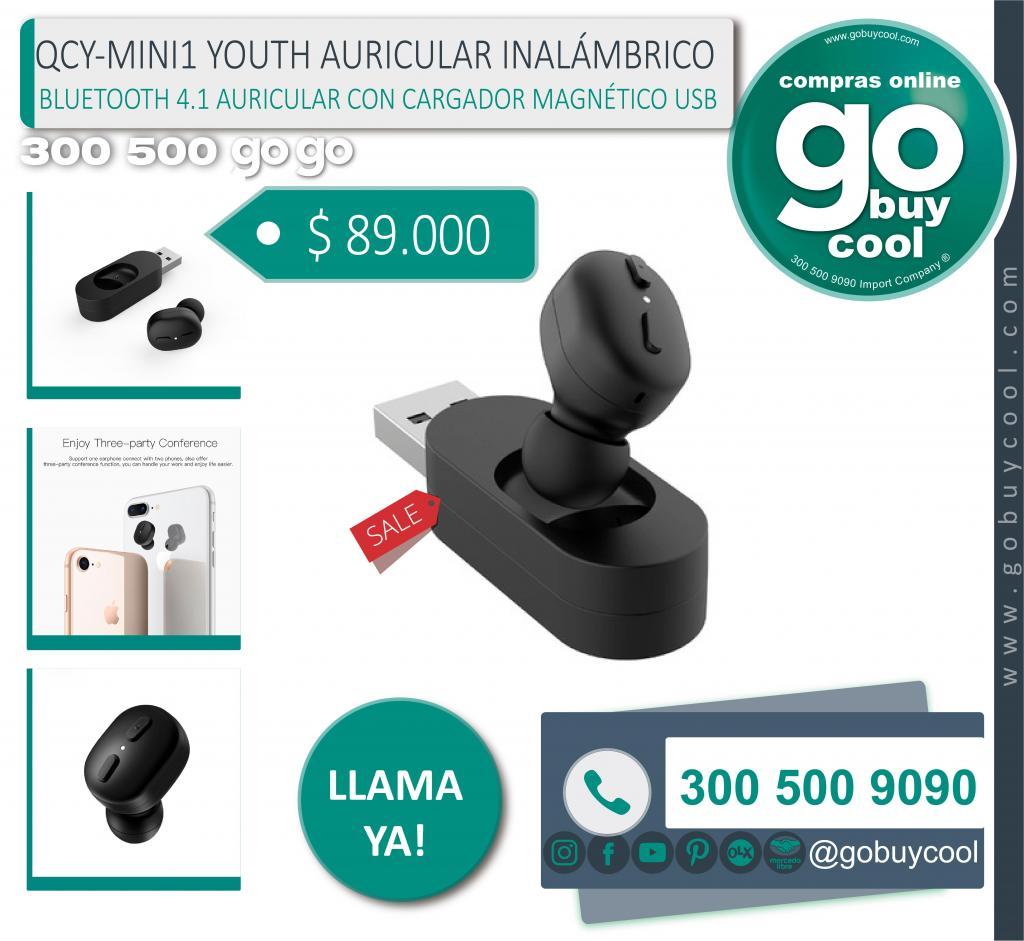 AURICULAR INALÁMBRICO QCY MINI1 YOUTH