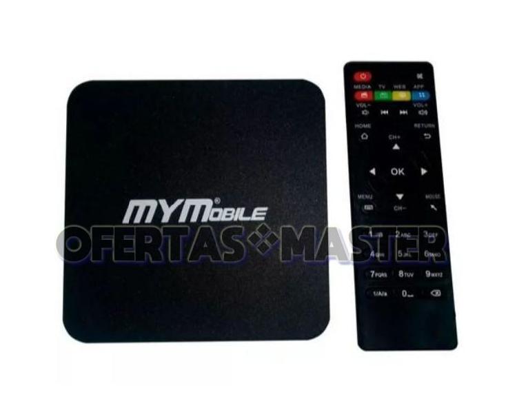 Convierte cualquier TV en Smart TV Box MYMobile 3D 4K HDMI
