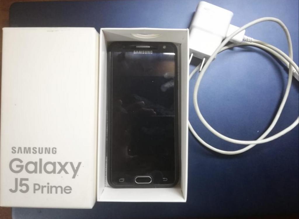 Samsung Galaxy J5 Prime Huella, Factura y cargador original