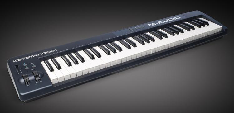 CONTROLADOR MIDI KEYSTATION 61II Maudio NUEVO