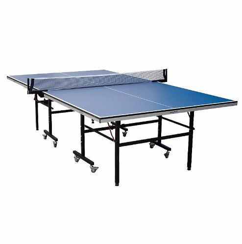 Mesa Ping Pong Profesional Sportfitness 18 Mm Plegable Tenis
