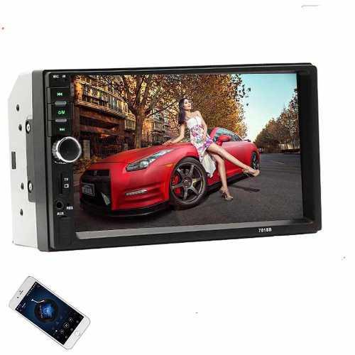 Radio Carro Mp5 Pantalla Tactil Bluetooth 7 Gratis Marco