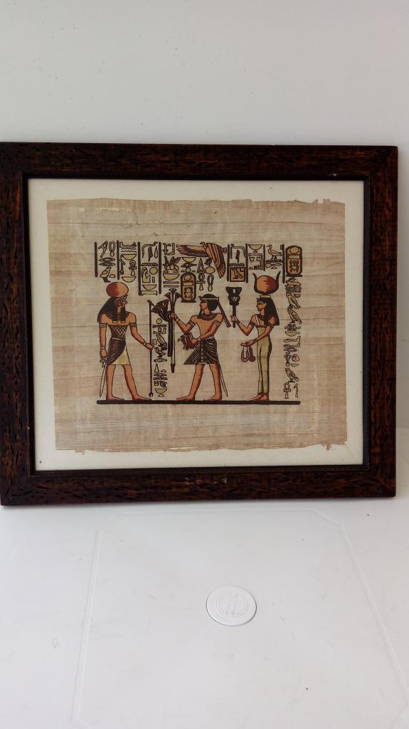 VENDO COLECCION DE 12 PAPIROS EGIPCIOS