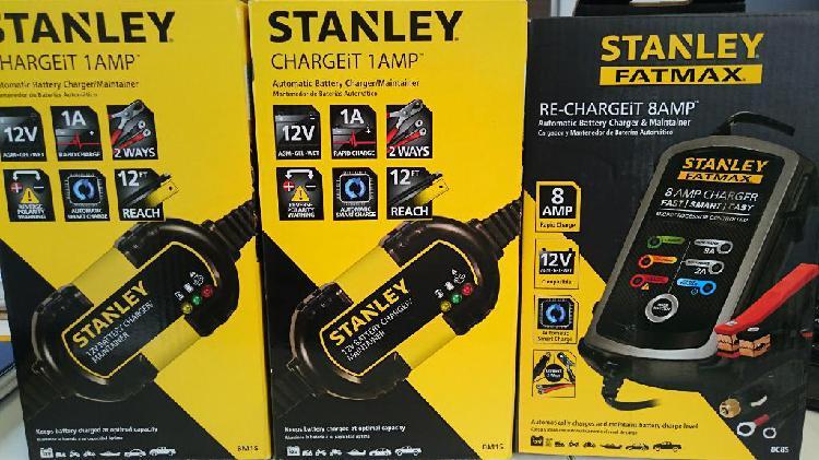 Cargador de Bateria Stanley Moto Y Carro