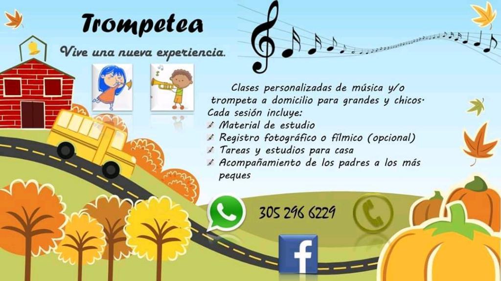 Clases Privadas de Musica Y Trompeta