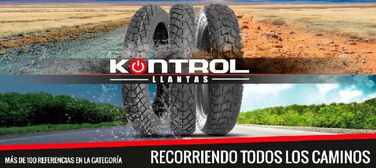 LLANTAS PARA MOTO KONTROL ORIGINALES PARA TODAS LAS MOTOS