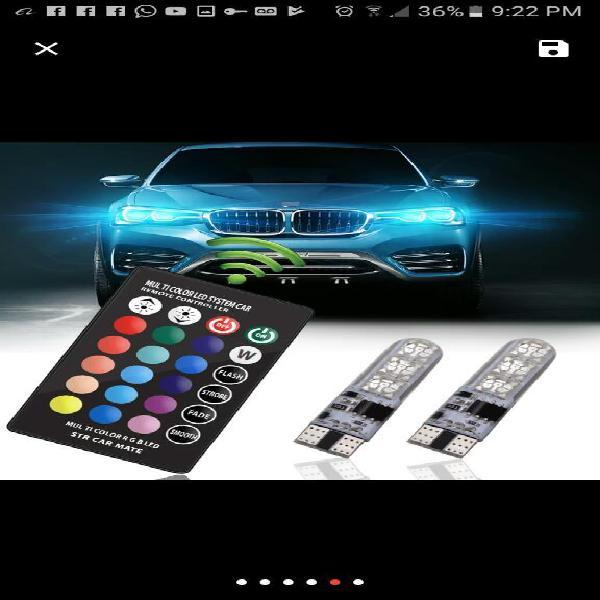 Luz de Colores para Moto Y Carro