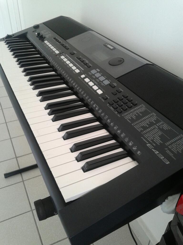 Teclado Yamaha Psr E 433 Usb