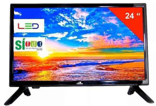 Televisor Huskee Tv 24 Pulgadas Con Tdt Monitor 12v/110v
