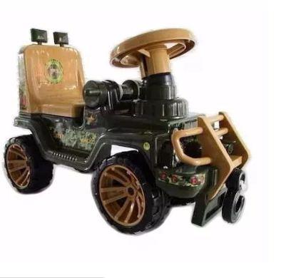 Carro Jeep Montable Infantil Jungla Boy Toys Niño Luces