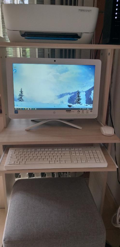 Computador Hp Todo en Unoimpresora