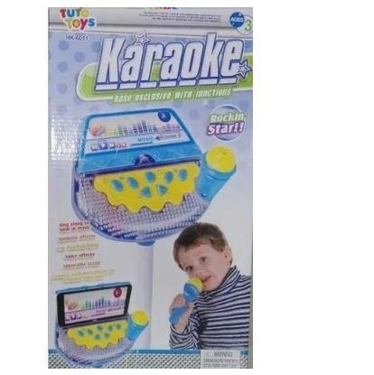 Karaoke Musical Juguete Microfono Mp3 Niña Niño Luces