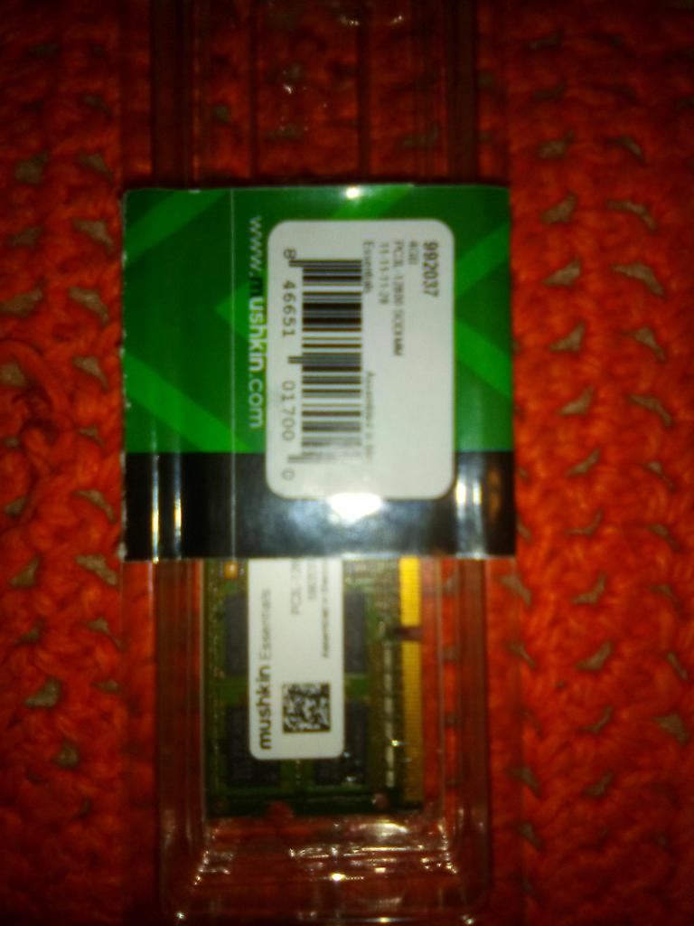 MEMORIA RAM 4GB DDR3 NUEVA PARA PORTATIL