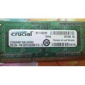 Memoria Ddr3 2gb Para portatil