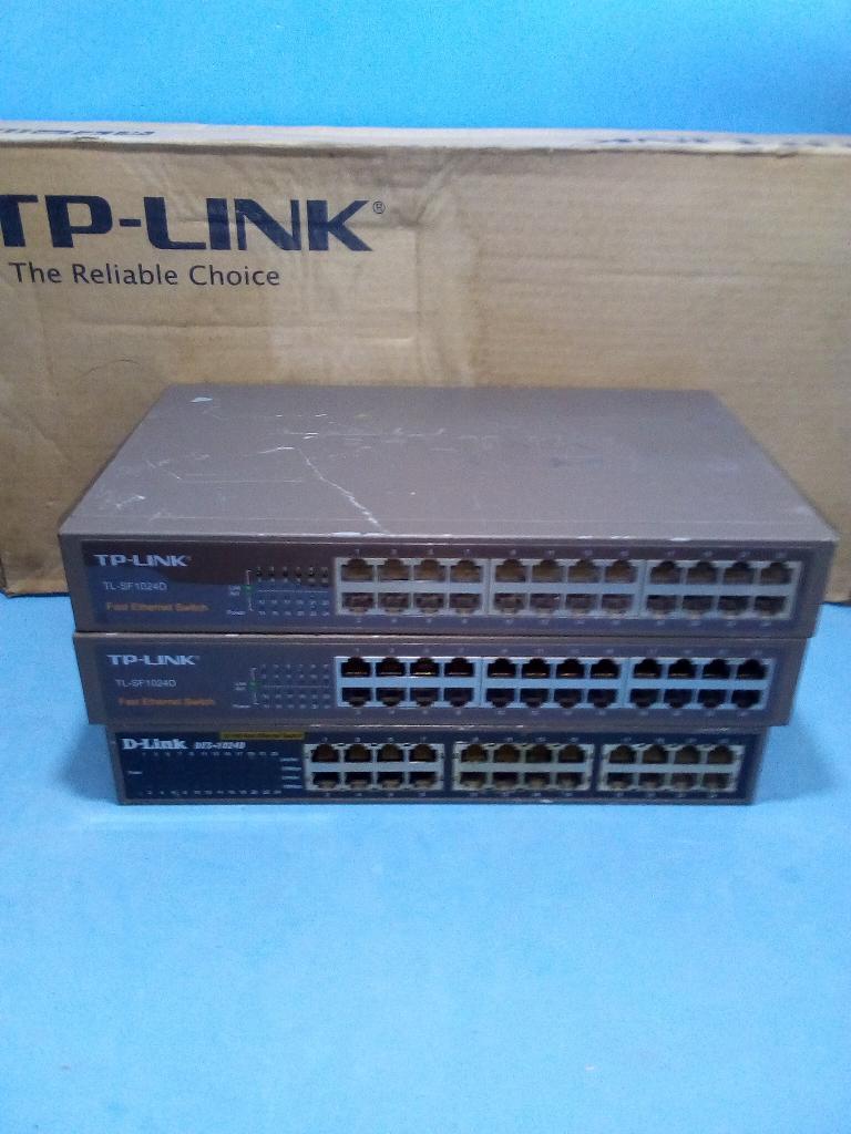 Modem Router Switch de 24 Puertos Tplin