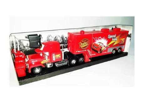 Mula Camion Rayo Mcqueen Control Remoto Tractomula Cars Mack