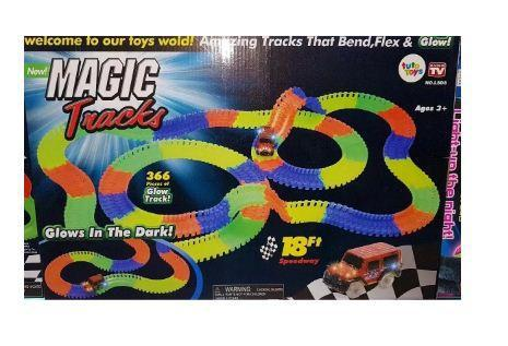 Pista De Carros Flexible Magic Tracks Car 366 Piezas