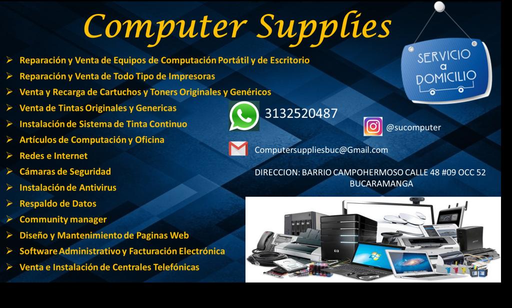 Reparacion, mantenimiento, ventas de computadoras,