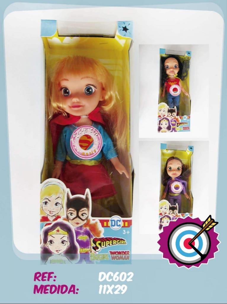 Dc Super Héroe Niñas Mini Supergirl Muñeca