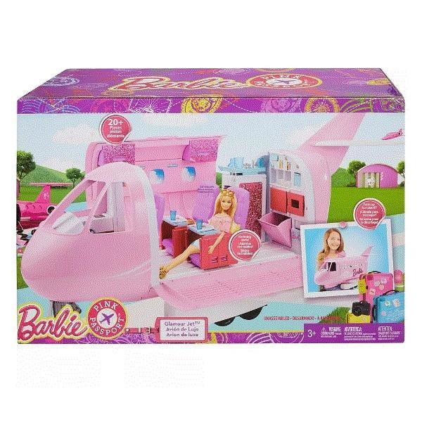 Jet De Lujo Barbie Avión Glamour