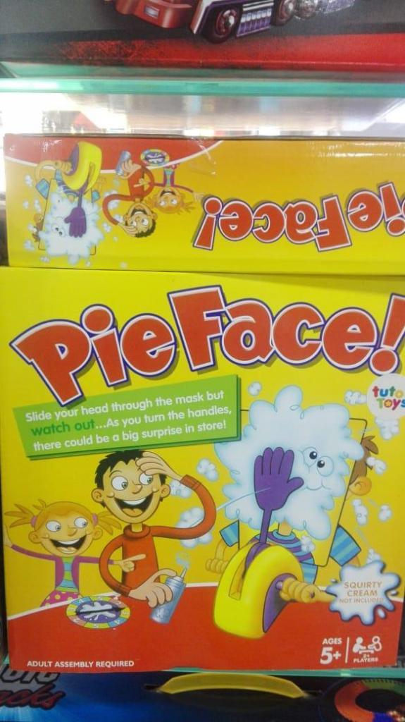 Pastelazo Pastelaso Juego Pie Face