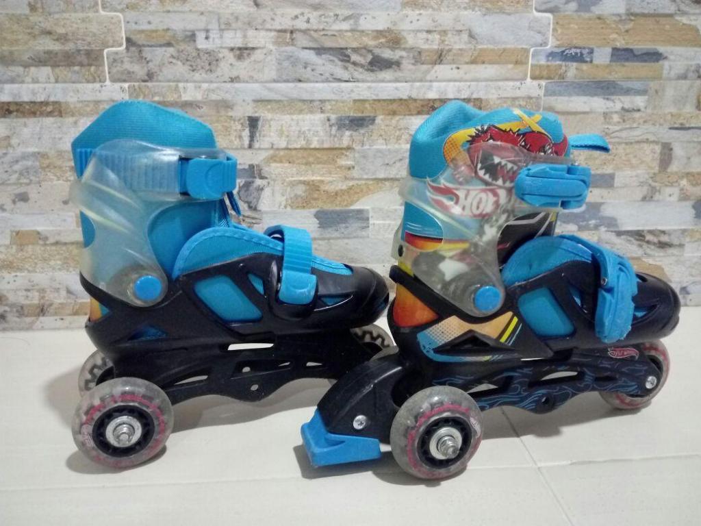 Patines para niño Hot Wheels orginales Equipo de