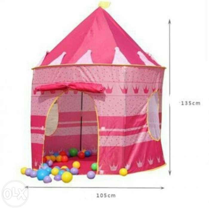 REF:  casa carpa castillo para niños y niñas azul y