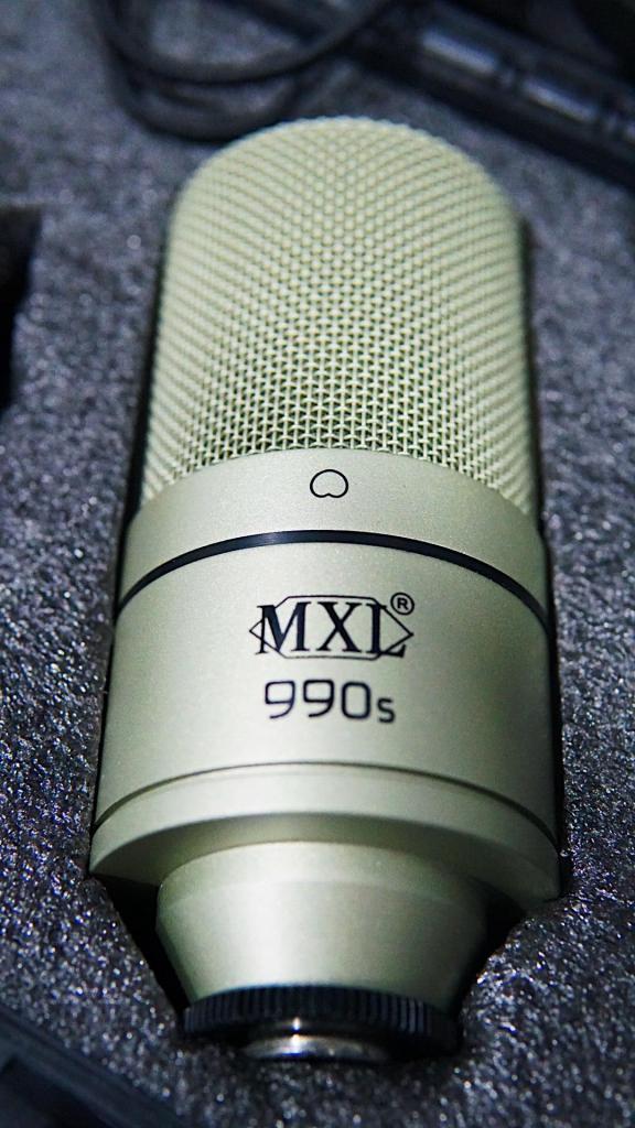 Micrófono Condensador Mxl990s Con Shockmount,cable Y