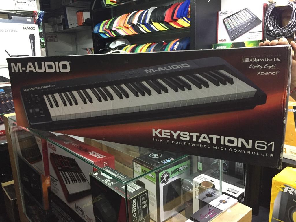 Teclado Midi MAudio Keystation 61